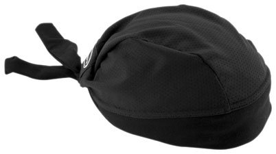 STRETCH HEADWRAP-BLACK MESH ()