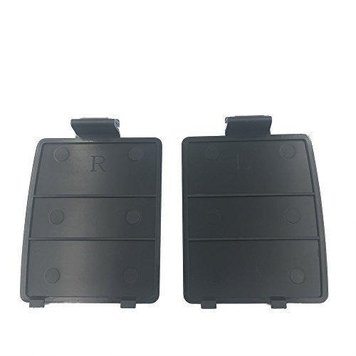1 Pairs Black Battery Door Cover lid Repair For Sega Game Gear GG Console (Sega Gear Game)