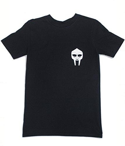 Urban Mf Doom con de el Black logotipo Insignia Hop Premium real Camiseta Rapper Hip de UnZxFS
