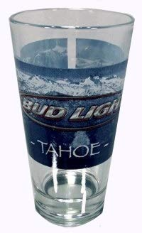 beercollections Budweiser Bud Light Tahoe Glassware - Set of Pint ()