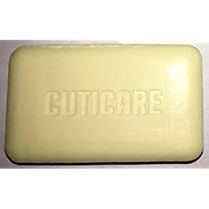 CutiCare 10% Sulfur Soap Glycerin Base (1 Bar, 4 Ounces) for Rosacea, Acne, Athlete's Foot, Body Odor, Folliculitis and other Skin Issues