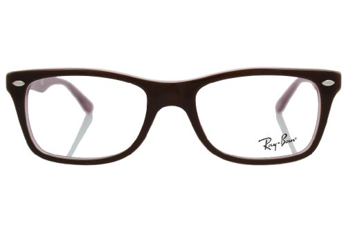 Ray-Ban Glasses 5228 2126 Brown 5228 Square Sunglasses Size 50mm