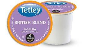 Tea Tetley Decaf (Tetley DECAF British Blend Tea 48 K-Cup)