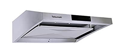 "Tatsumaki TA-S38 30"" TA-S38 Steam Auto Clean Range Hood with 950 CFM and Touch Panel"