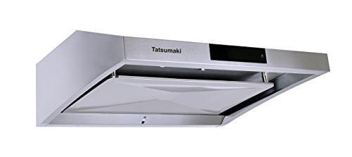 "Price comparison product image Tatsumaki TA-S38 30"" TA-S38 Steam Auto Clean Range Hood with 950 CFM and Touch Panel"