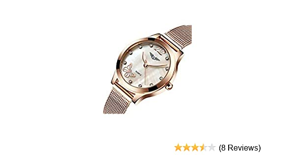 730f5ee32cc7 Amazon.com: Ultra-thin Waterproof Women Watches coupons for Fashion Quartz  Watch Diamond Butterfly G075 (gold butterfly): Health & Personal Care