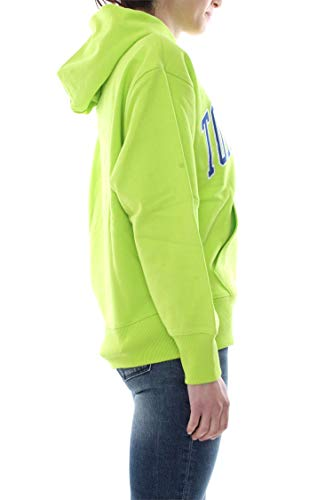 Jeans Dm0dm06320 Clean Mujer Tommy Verde Sudadera Collegiate 4UqaWxZd1