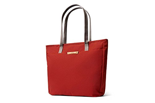 Bellroy Tokyo Tote, Water-Resistant Woven Tote Bag (13'' Laptop, Tablet, Notes, Cables, Drink Bottle, Spare Clothes, Everyday Essentials) Red Ochre by Bellroy (Image #1)