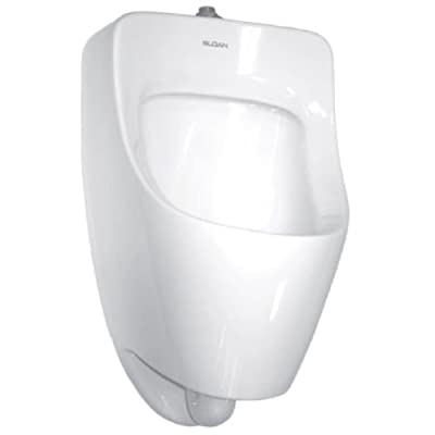 Sloan SU-7009-A Efficiency Dual Flush 0.125 to 0.5 GPF Small Urinal with Top Spu, White