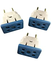 3 Plugs Adaptadores De Tomadas 10a/20a BOB Para secador/Microondas e Etcs