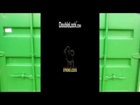 Containerschloss DoubleLock II