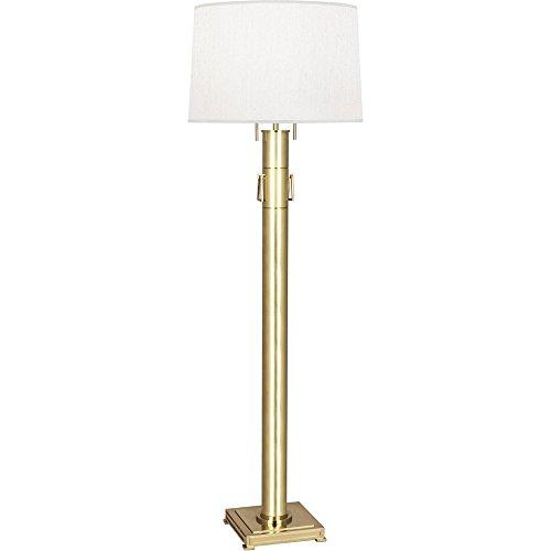 Robert Abbey Two Light Floor Lamp 526 (Robert Lamp Brass Floor)