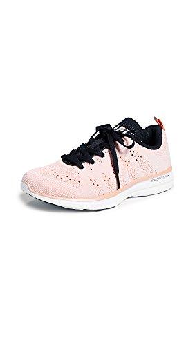 APL: Athletic Propulsion Labs Women's Techloom Pro Sneakers, Blush/Black/White, 9 M US