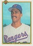 1990 Bowman Baseball Rookie Card IN SCREWDOWN CASE #492 Juan Gonzalez Mint