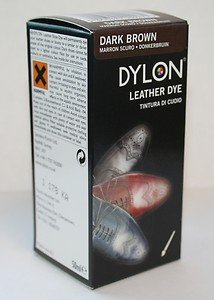Dylan Leather Shoe And Boot Dye - Dark Brown