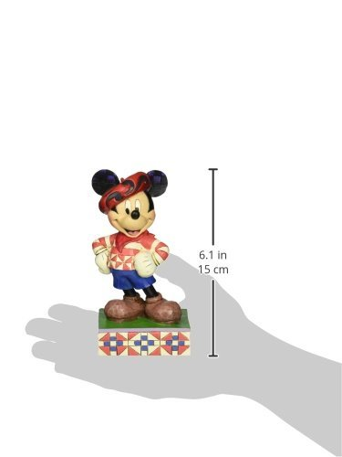 Enesco Disney Traditions by Jim Shore Mickey in France Figurine, 6 in