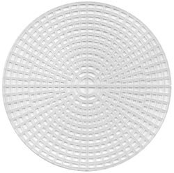 (Darice Bulk Buy Plastic Canvas 7 Count 12 inch Circle Clear 33305 (12-Pack))