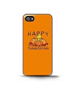 Happy Turkey Day New Peanuts Snoopy Woodstock - Funda Carcasa para Apple iPhone 5 / iPhone 5S