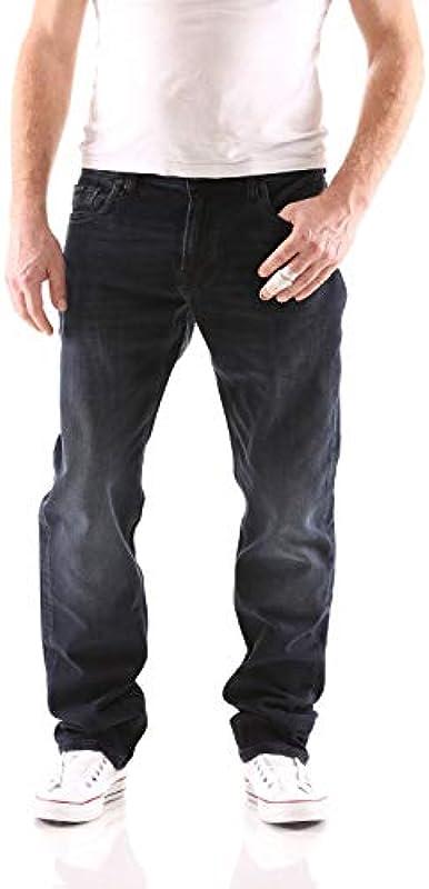 Big Seven Cade Luxe Blue Regular dżinsy męskie: Odzież