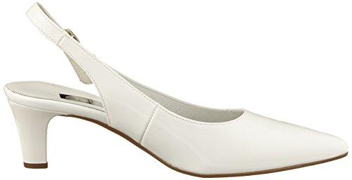 Shoes Gabor Weiss Gabor absatz Fashion Femme Escarpins Blanc Tawx1fP