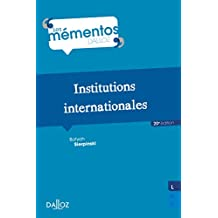 Institutions internationales (Mémentos) (French Edition)
