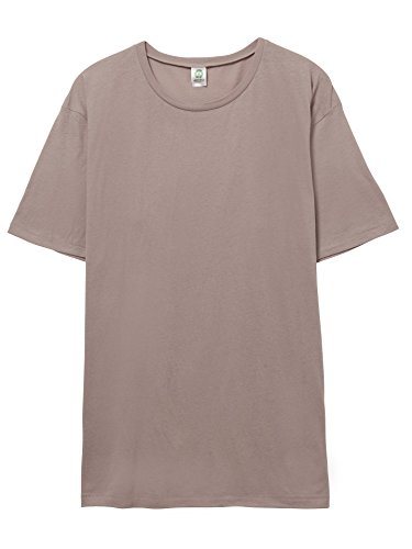 Alternative Mens Organic Cotton Crew T-Shirt XX-Large Earth Sandstone