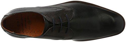 black Para Derby Negro Bugatti De Zapatos Hombre 312296041011 Brown Cordones xIq8XO