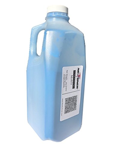 New Era Toner (1,000g / 1kg) Bulk Cyan Toner Refill for Brother (TN-115) HL-4040CDN HL-4040CN HL-4070CDW DCP-9040CN DCP-9045CDN DCP-9045CDW MFC-9440CN MFC-9450CDN (Brother Dcp 9045cdn Laser)