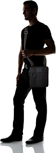 cm Hombre Tommy H x 3x26x23 Stripe Hilfiger hombro Crossover y Block bolsos Black T Shoppers B de Negro zzOfqUnr