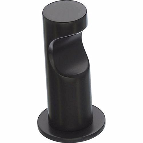 Top Knobs HOP1BLK Bath Hopewell Collection 1.5 Inch Single Hook, Flat Black Finish