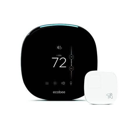 Ecobee4 Voice Enabled Smart Wi Fi Thermostat W Room Sensor