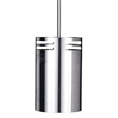 LBL Lighting HS361SS302D75 Volo Collection 1-Light Mini-Pendant, Stainless Steel Finish