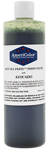 AmeriColor Food Coloring, Avocado Soft Gel Paste, 13.5 ()