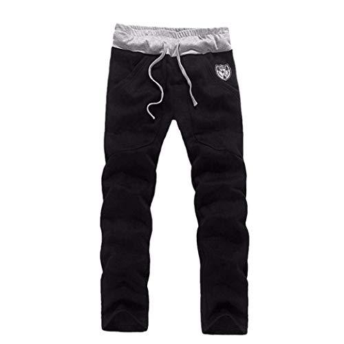 Pantalone Pantalone Schwarz Casual Cappuccio Cappotto Giacca Semplice Con Da Da Lanceyy Stile Invernale Uomo Capispalla Giacca Giacca Invernale Pantalone qaxZfSx