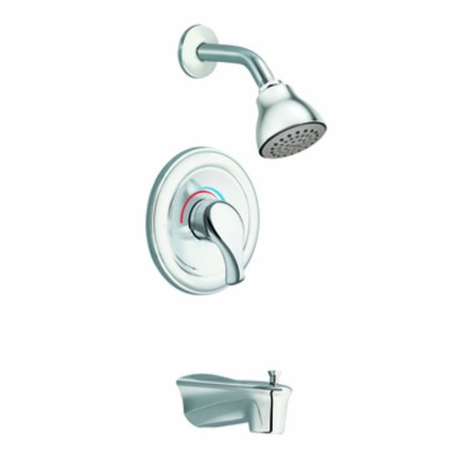 Moen Legend 1 Handle (Moen Tl172 Legend Moentrol Tub/Shower, Chrome)