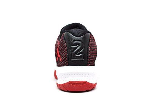 Giordania Prescolare B. Fly Bp Basketball-shoes Nero / Palestra Rosso-bianco Nero / Palestra Rosso-bianco