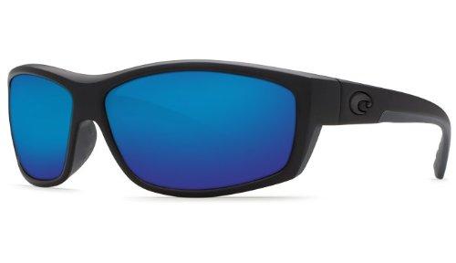 Costa Del Mar Saltbreak 580G Polarized Sunglasses in Blackout & Blue Mirror - Mar Polarized Saltbreak Sunglasses Costa Del