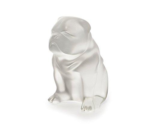 Lalique Bulldog Sculpture