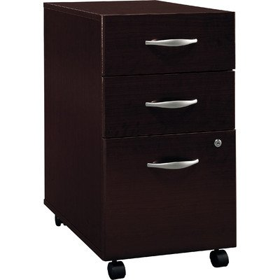 Series C 3 Drawer Vertical File Finish: Mocha (Elegant Cherry Wood Finish Series)