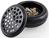 Starry Screen Black charcoal burner