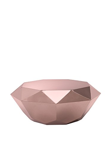 Zuo Modern Gem Coffee Table, Rose Gold