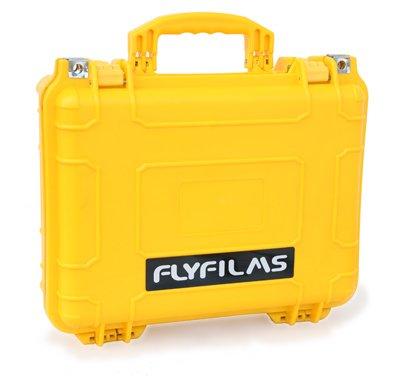 Flyfilms Travel friendly Waterproof Hardcase for Camera Accessories
