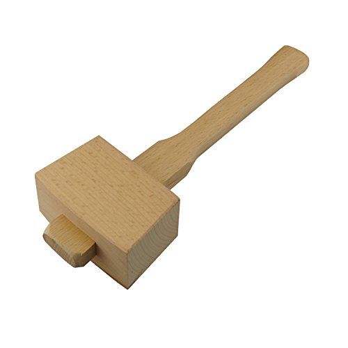 UPC 735810443883, Hanperal Wooden Mallet, Solid wood Hammer for DIY Woodworking Carving Hand work