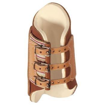 Weaver Leather Splint Boots Med Brn/Tan by Weaver