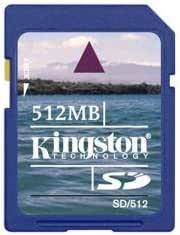 Amazon.com: Kingston 512 MB tarjeta SD Secure Digital (SD ...