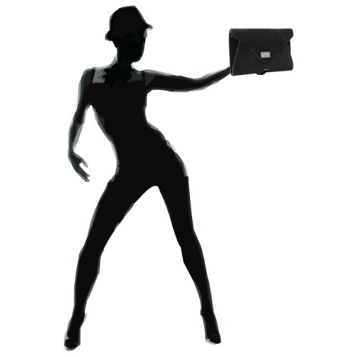 CASPAR Fashion - Bolso cruzados para mujer - negro