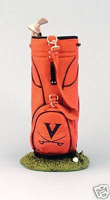 VIRGINIA CAVALIERS GOLF BAG CLUB DESK CADDY FIGURE NEW by route 66 sports