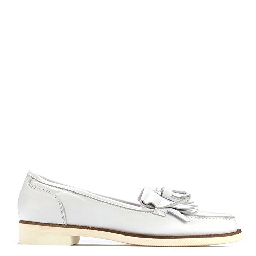 Leather Elia Shoes Loafer White White Alpha B SnHnI0qC