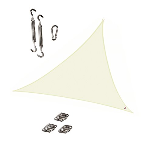 Cool Area Triangle 11 Feet 5 Inches Durable Sun Shade Sai...
