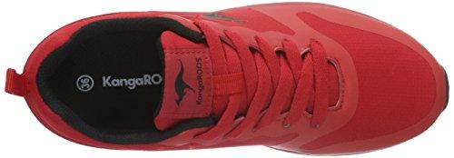 KangaROOS Kanga X 2200 - Zapatillas Unisex Niños Rot (flame Red/black 655)